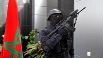 الأمن المغربي (الأناضول)