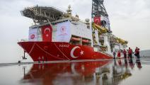 الاستعدادات التركية مكتملة لأعمال التنقيب (فرانس برس)