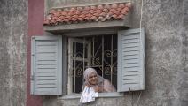 امرأة في الحجر المنزلي وكورونا في المغرب - مجتمع
