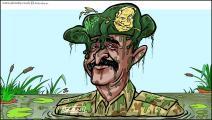 كاريكاتير البرهان ونتنياهو / حجاج