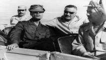 ناصر والقذافي
