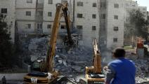 هدم منازل الفلسطينيين/غيتي/مجتمع