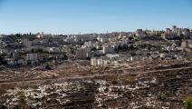 فلسطين المحتلة/سياسة/مستوطنات/(طوماس كويس/فرانس برس)
