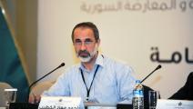 المعارض السوري معاذ الخطيب