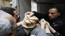 مصر-الخبز المدعم في مصر-أسواق مصر-18-1-فرانس برس