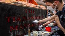 إحياء ذكرى تيان أنمين في هونغ كونغ-Getty