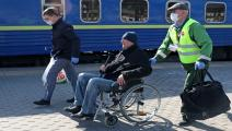 شخص ذو إعاقة في موسكو