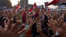 مصر/25 يناير/ODD ANDERSEN/AFP