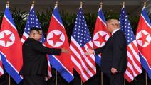 قمة دونالد ترامب وكيم جونغ أون/Getty