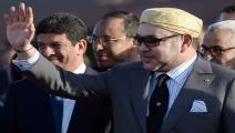 العاهل المغربي محمد السادس/فرانس برس