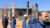 الجزائر محطة غاز غيتي يناير 2019