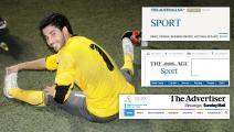 صحف استراليا تغضب البحريني