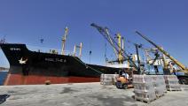 تركيا-ميناء أنقرة-صادرات تركيا-06-12-فرانس برس