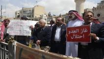 الأردن/اقتصاد/احتجاجات في الأردن ضد غاز إسرائيل/15-02-2016 (الأناضول)