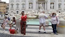 rome, tourists