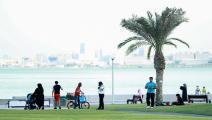 خففت قطر الإجراءات الاحترازية والوقائية (كريم جعفر/فرانس برس)