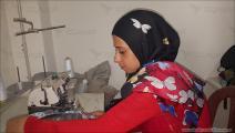 سامية العبدالله شابة تعاني من الصمم 1 - لبنان