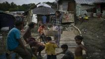 يفضل الروهينغا معسكرات بنغلادش على العودة لبلادهم (أليسون جويس/Getty)