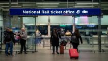 شبكة تذاكر قطارات لندن/مجتمع (كريس راتكليف/ فرانس برس)