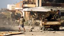 سياسة/اشتباكات ليبيا/(عبدالله دومة/فرانس برس)