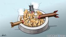 كاريكاتير هدنة سورية / علاء