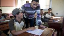 امتحانات مدرسية في القاهرة - مصر - مجتمع