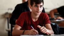 تلاميذ سوريون في القامشلي - سورية - مجتمع