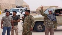 قوات حكومة الوفاق تسيطر على قاعدة الوطية-محمود تركية/فرانس برس