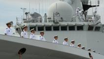 قوات من الجيش الصيني-اقتصاد-4-3-2017 (روميو جاكاد/فرانس برس)