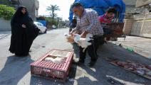بائع دجاج في بغداد- فرانس برس
