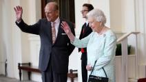 الأمير فيليب والملكة إليزابيث Chris Jackson/Getty