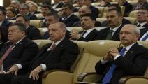 سياسة/أردوغان وكمال كلجدار أوغلو/(غوخان بالسي/الأناضول)