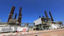 محطة كهرباء غزة-اقتصاد-15-4-2017 (عبدالحكيم أبورياش/العربي الجديد)