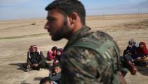 سورية/المليشيات الكردية بالحسكة/جون موور/Getty