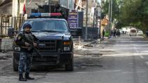 تسعى الشرطة العراقية إلى فرض الأمن (أحمد الربعي/فرانس برس)