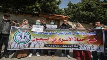 كورونا يهدد حياة الأسرى بسجون الاحتلال (علي جاد الله/الأناضول)