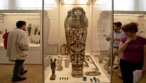 سياسة/المتحف المصري الكبير/(لويزا كولياماكي/فرانس برس)