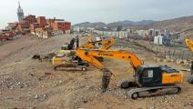البناء والتشييد من القطاعات المتضررة بقوة (فرانس برس)
