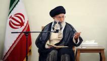 إيران/سياسة/علي خامنئي/(الأناضول)