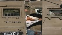 أسرى فلسطينيون - فلسطين المحتلة (جعفر أشتية/فرانس برس)