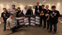 طلاب قطر في المسابقة العربية للروبوت (العربي الجديد)