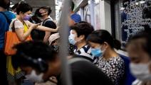 إجراءات الحماية من كورونا في بكين-نويل سيليس/فرانس برس