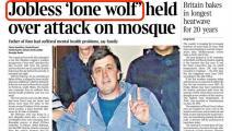 منفذ هجوم/مسجد لندن/تويتر