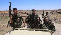 قوات النظام السوري تتقدم في ريف حماة (فرانس برس)