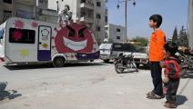 توعية من كورونا في إدلب - سورية - مجتمع