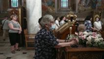 الكنيسة اليونانية: لا مكان لليوغا في حياة المسيحيين- غيتي