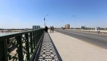 جسر السيناق في بغداد (صباح عرار/فرانس برس)