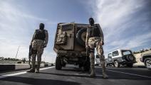 الجيش المصري KHALED DESOUKI/AFP