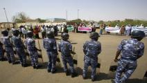 سياسة/الأمن السوداني/(أشرف الشاذلي/فرانس برس)