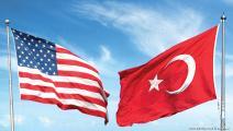 علم تركيا وأميركا